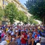 Manif Anti Pass Sanitaire Nice 14 août 2021